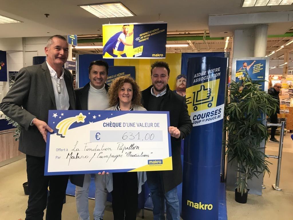 Merci aux gérants & clients de Makro Cash & Carry Belgium